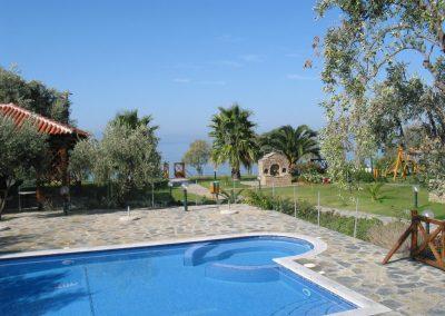 Exterior View Razi beach apartments Lefokastro