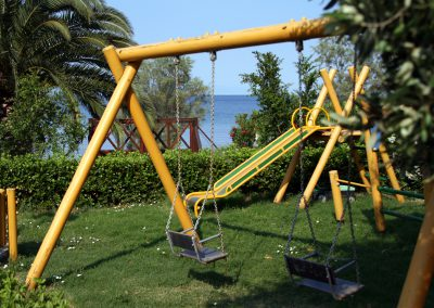 Playground Razi beach apartments Lefokastro