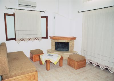 Interior view  living room Razi beach Lefokastro